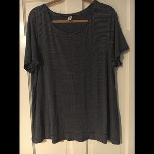 Old Navy luxe crew neck t-shirt XL